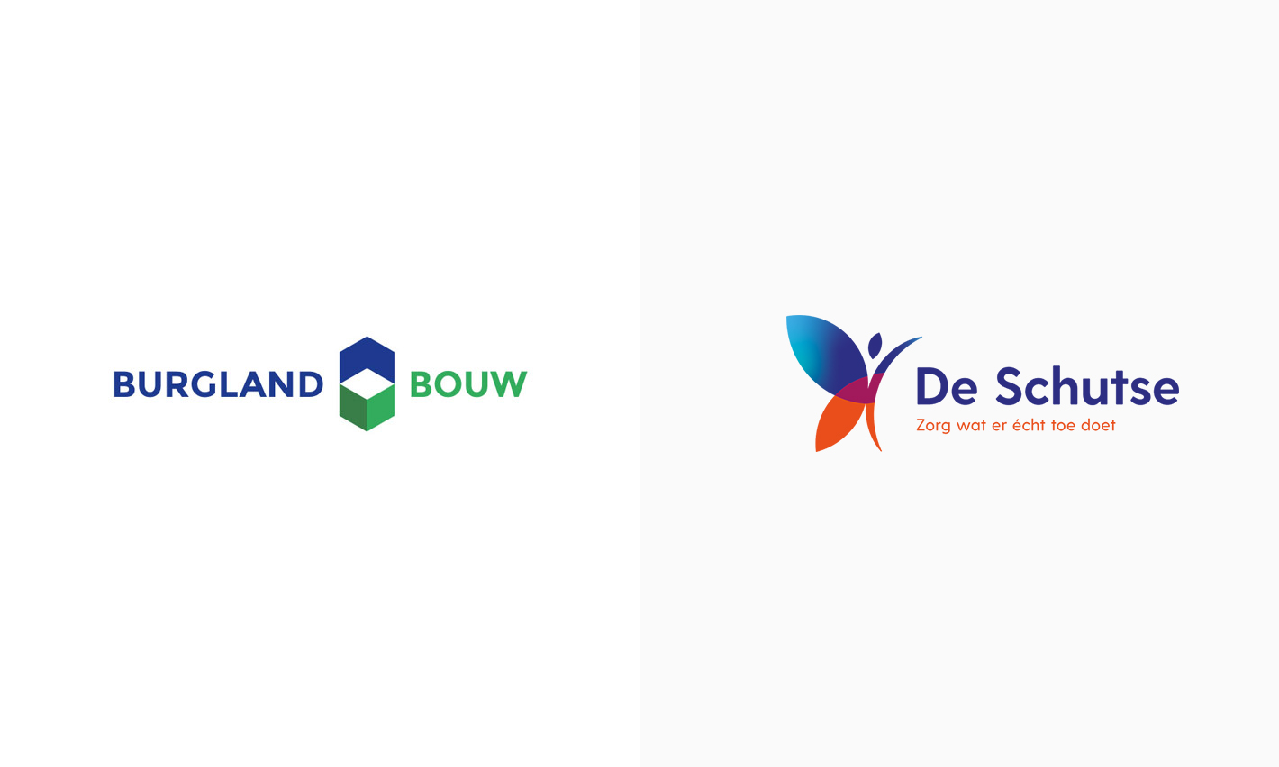 Verschillende logo's en huisstijlen